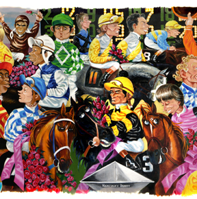 17 Best images about Art of Ky Derby on Pinterest | Print