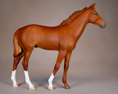 Secretariat Foal Sculpture