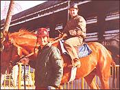 Jim & Ron Hialeah Park - December, 1972