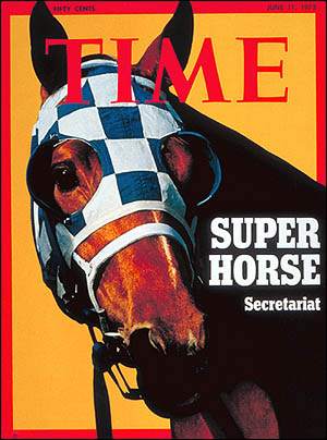 Secretariat in time magazine